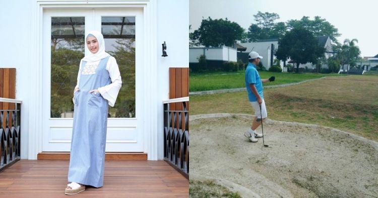 12 Penampakan rumah mewah Pasha Ungu dan Adelia, ada lapangan golf
