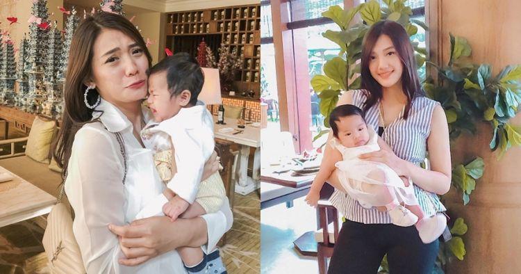 Jadi ibu baru, ini 10 momen Anissa Aziza saat asuh buah hati