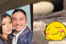 7 Potret lucu anak pertama Reuben Elishama dan Shenty Feliziana