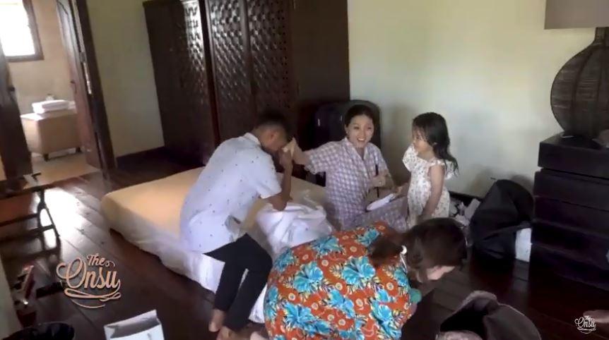Ruben liburan ke Bali Betrand instagram