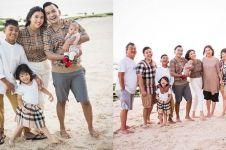 10 Momen Ruben & Sarwendah liburan bareng Betrand, penuh keseruan