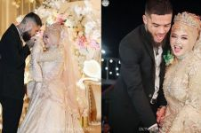 7 Potret resepsi nikahan Diego Michiels, wajah cantik istri terekspos