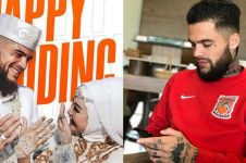 Sebulan nikah, istri Diego Michiels dikabarkan hamil bayi perempuan