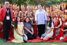 Tari Gandrung Banyuwangi meriahkan Kongres V PDIP di Bali