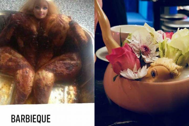 9 Foto boneka Barbie dikreasikan tak lazim ini bikin gagal paham
