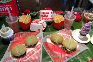 Rayakan HUT RI, McDonald's luncurkan menu yang Indonesia banget