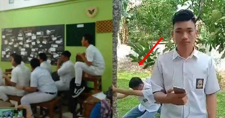 7 Aksi parodi siswa saat jam istirahat sekolah ini bikin ngakak