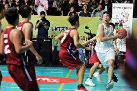 Laga Honda DBL Indonesia Jakarta Series region barat berlangsung panas