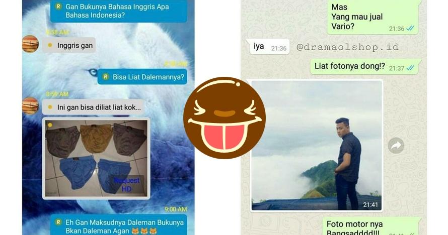 10 Chat lucu pedagang online shop ngerjain pembeli ini kocak