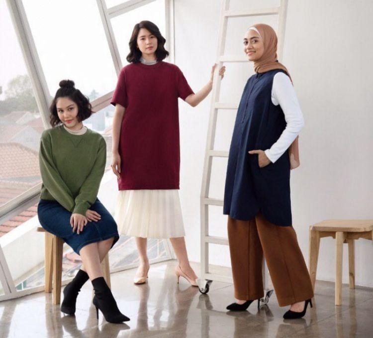 Tips tampil gaya feminin ala tiga selebriti ini fashionable banget lho