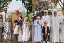 Momen 11 seleb rayakan Idul Adha bersama keluarga, kompak abis