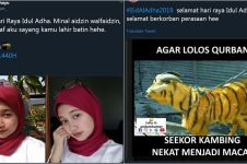 10 Cuitan lucu ucapan Selamat Idul Adha ini bikin cekikikan