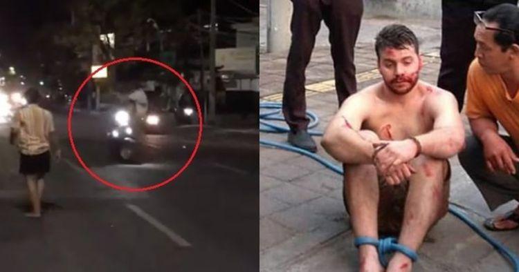 Viral turis asing di Bali ngamuk dan tendang pemotor sampai jatuh