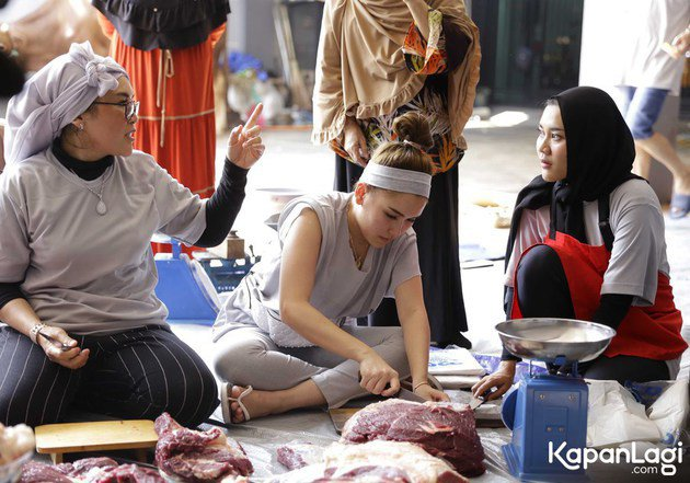 Momen Ayu Ting Ting rayakan Idul Adha istimewa