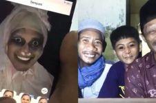 10 Kelakuan orang pakai filter Snapchat ini kelewat kreatif