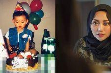 Sedang jadi sorotan, ini 7 foto masa kecil Rachel Vennya