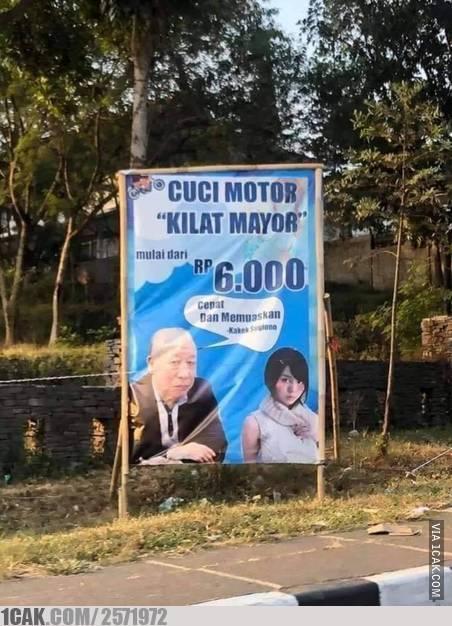 papan iklan pinggir jalan © 2019 berbagai sumber