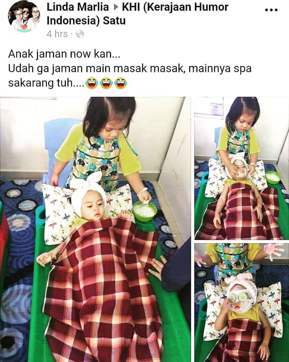 kelakuan usil anak kecil geleng kepala © berbagai sumber