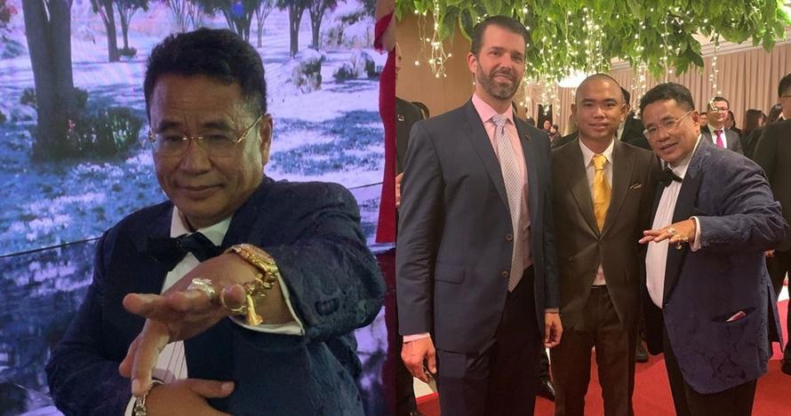 Foto bareng, cincin Hotman Paris curi perhatian anak Donald Trump