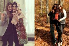 10 Momen Tania Nadira dan ibu yang tampil hits, bak kakak adik