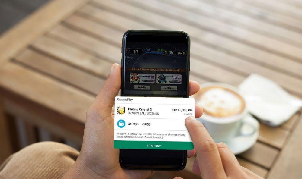 Cara baru beli aplikasi Google Play pakai GoPay, cashback 100% berbagai sumber