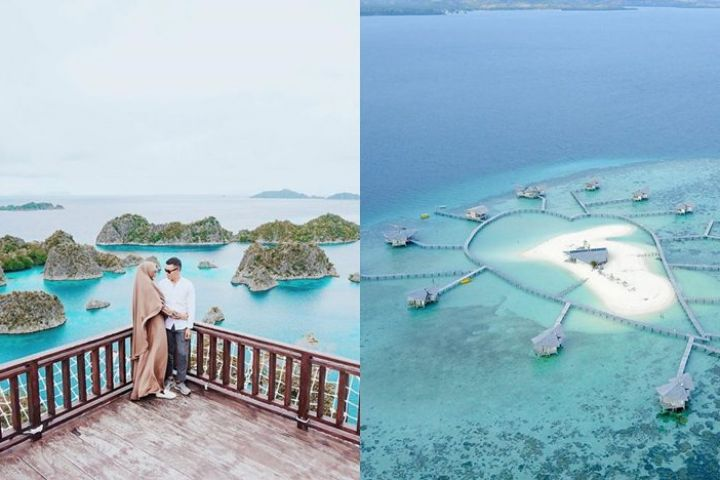 26 Tempat honeymoon romantis di Indonesia, bikin makin mesra
