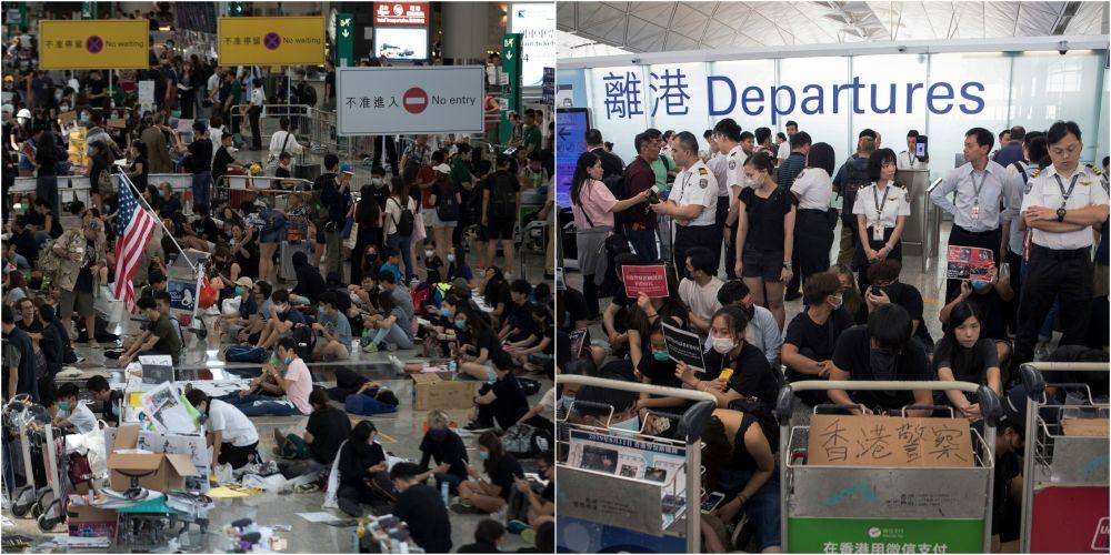 Potret demonstrasi di Hong Kong istimewa