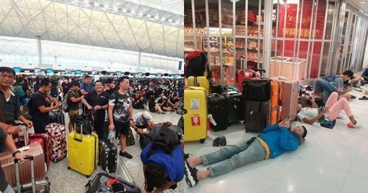 7 Momen atlet renang Indonesia terjebak di Bandara Hong Kong