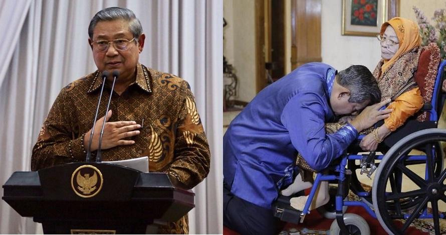 Ibunda SBY diopname, SBY minta doa kesembuhan