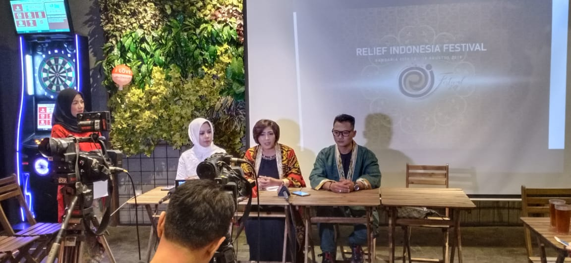 Relief Indonesia Festival 2019 ajak 60 UKM gelar produk kreatif