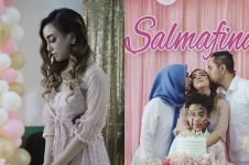 9 Momen ultah Salmafina bersama anak yatim, penuh kehangatan