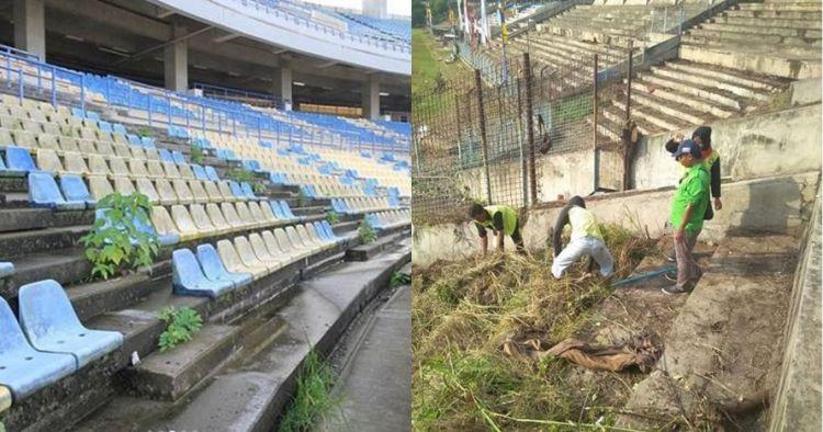 Jarang digunakan, 6 stadion di Indonesia ini terbengkalai