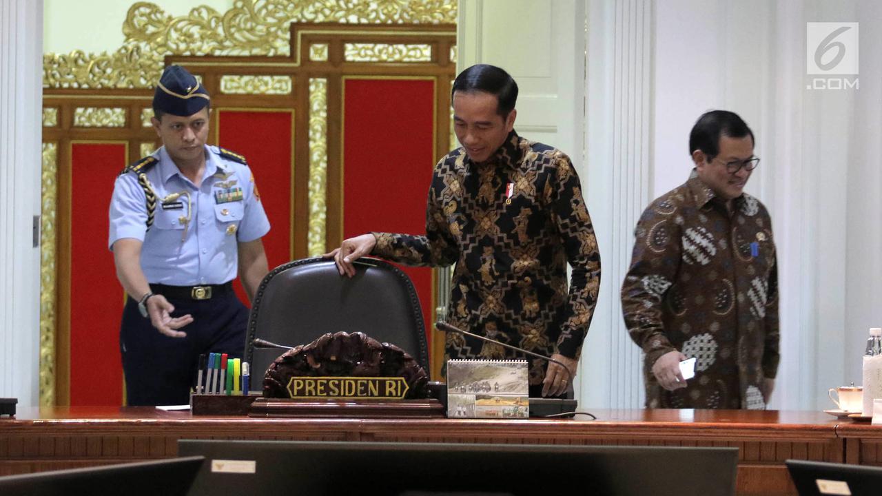 Jokowi bocorkan susunan kabinetnya, ada menteri di bawah 30 tahun