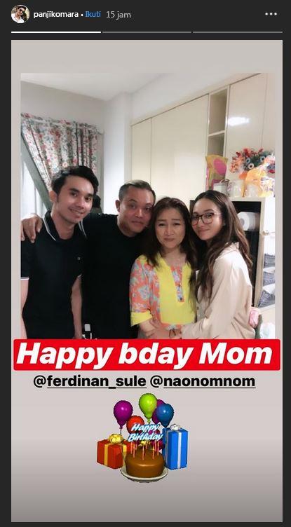 Sule beri kejutan ulang tahun ibunda istimewa