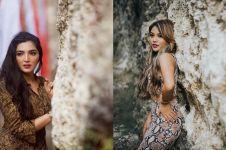8 Momen Ashanty & Aurel pakai baju ular, Azriel jadi fotografer
