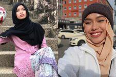 12 Pesona Qhouirunnisa, hijaber yang jago freestyle bola