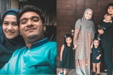 Baru 8 bulan lahiran, istri Ricky Harun umumkan hamil anak ke-4