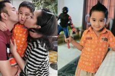 5 Momen perayaan ulang tahun ke-4 Rafathar, kuenya unik