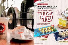 7 Promo makanan enak jelang 17 Agustus 2019, nggak beli rugi