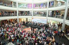 Nih acara yang memadukan konser dengan flashmob dan drama musik
