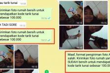 Chat akal-akalan kakak suruh adiknya bersihin rumah ini kocak