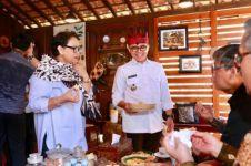 Berkunjung ke Banyuwangi, Menlu Retno jatuh hati pada kulinernya