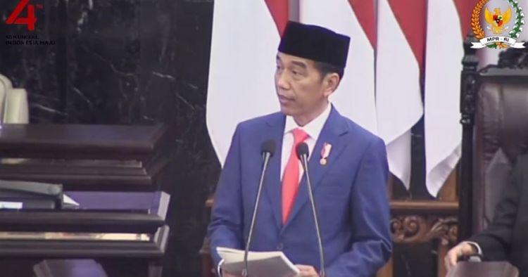7 Quote Presiden Jokowi dalam pidato Sidang Tahunan MPR 2019