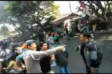 Kondisi terkini 4 polisi Cianjur terbakar, satu luka parah