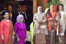 5 Gaya busana Iriana Jokowi yang memesona di sidang tahunan MPR