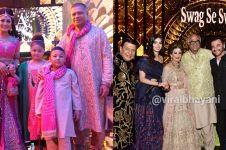 Gaya 12 seleb di royal wedding anak Raam Punjabi, glamor abis