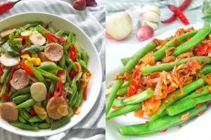 20 Resep olahan buncis, masakan rumahan enak dan sederhana