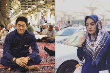 Dihajikan, mendiang istri Ifan Seventeen resmi bergelar hajjah