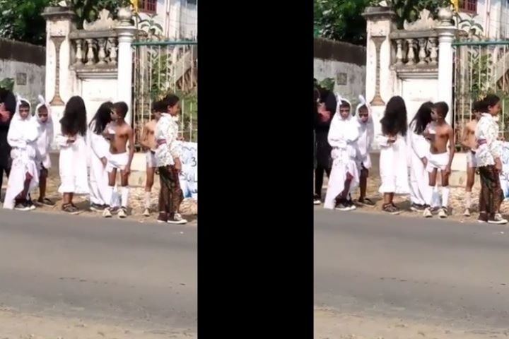 Viral, video hantu lokal sambut HUT RI ke-74 ini bikin ngakak