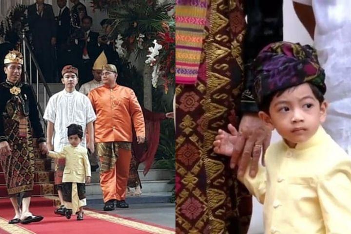 HUT ke-74 RI, ini 6 momen Jokowi ajak Jan Ethes sapa tamu undangan